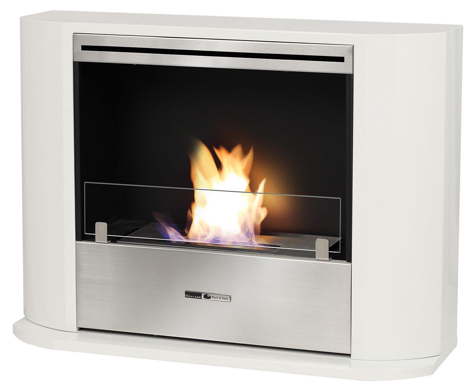 vioflame classique 3500 white vfc3500w bio ethanol fireplace airdry shop. Black Bedroom Furniture Sets. Home Design Ideas