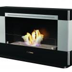 VioFlame Vogue 4000 Black (Freestanding or Wall Mount) VFC4000B