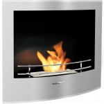 Built in Fireplace STAINLESS STEEL VFR210BCO Bio Ethanol Fireplace